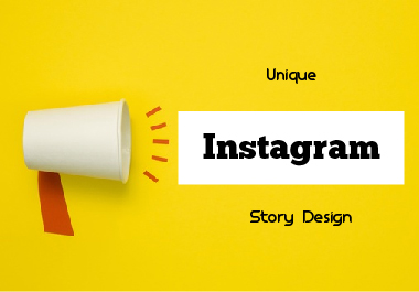 I will make 2 awesome instagram post and stories design for you