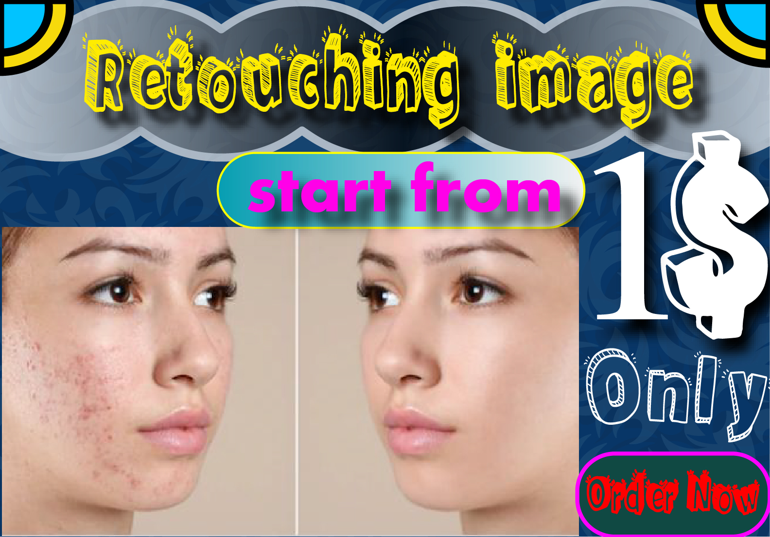 I will do 5 Photo retouching and Professionallyphoto edit within 12 hours