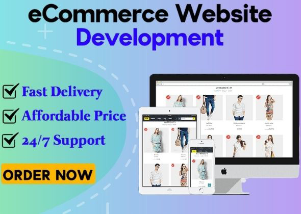 I Will Create ecommerce website online store & online Shop by woocommerce
