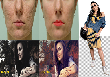 I will do photo editing, photo retouching,photoshop editing within 24 hour.