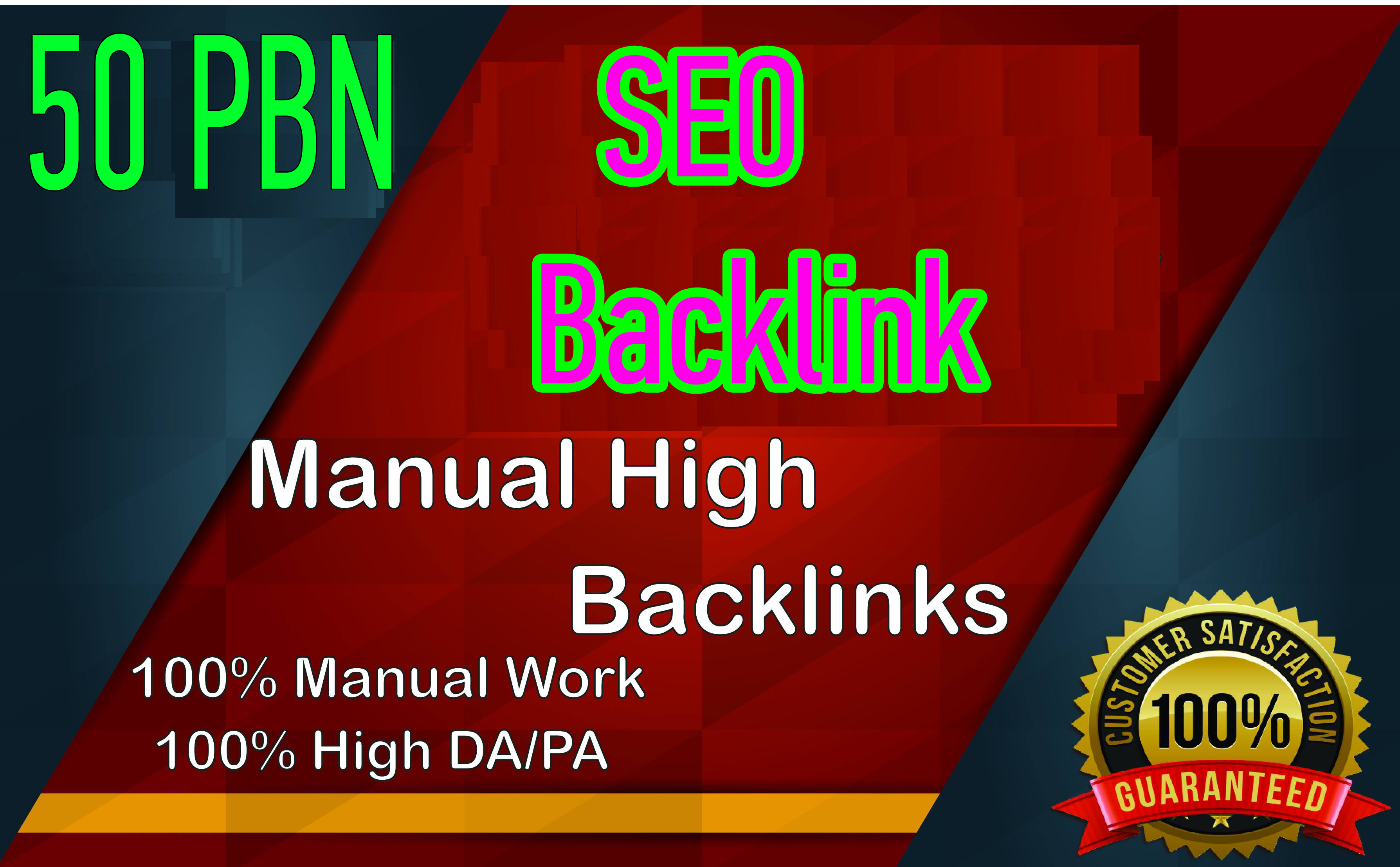 Build 50+parmanent PBN with High DA 35+ PA 35+ and 100 Dofollow with