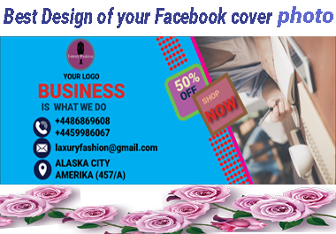 I will Design Facebook / Instagram / Twitter cover photo and any social media post professionally.