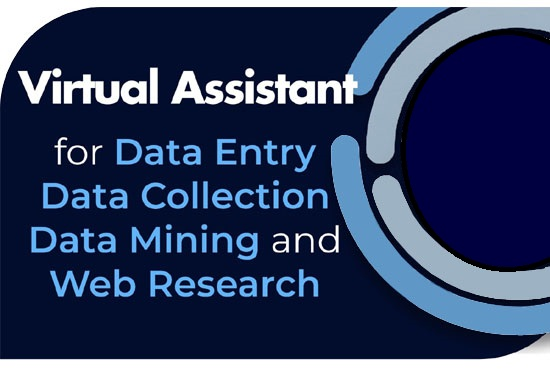 I will do for you data entry, data mining, copy paste and web research