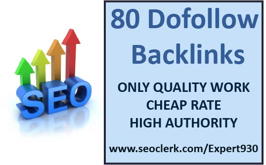 I will submit 80 high quality dofollow backlinks blog comments