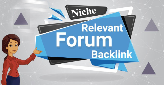 10 Forum profiles backlinks from high quality forums for 30