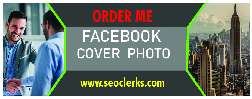 Iwill design attractive facbook cover photo