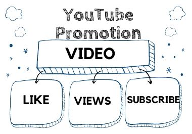 I will do massively organic YouTube video promotion