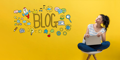 i will create blog website and comment backlinks