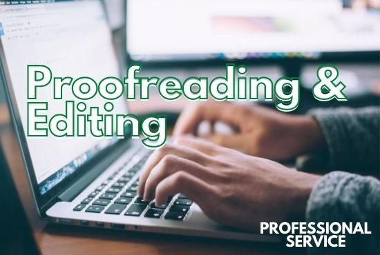 i will do edit your book and proofreading
