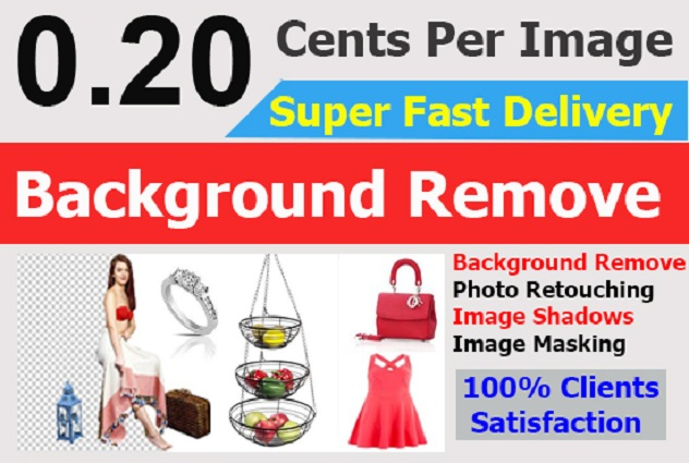 I will do eCommerce Product background remove and Masking in 12 hrs