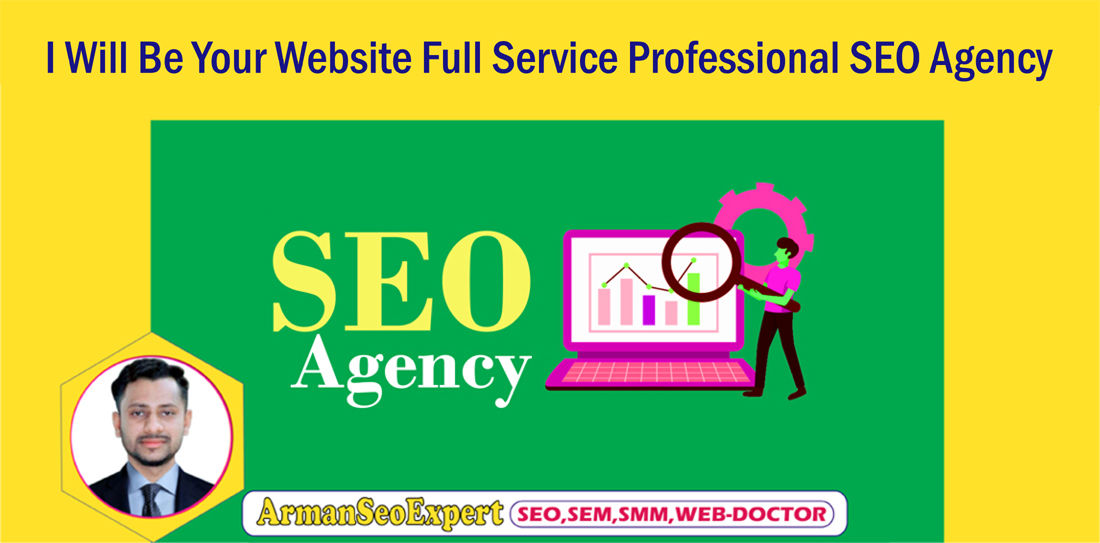 I Will Be Your Website Full Service Professional SEO Agency