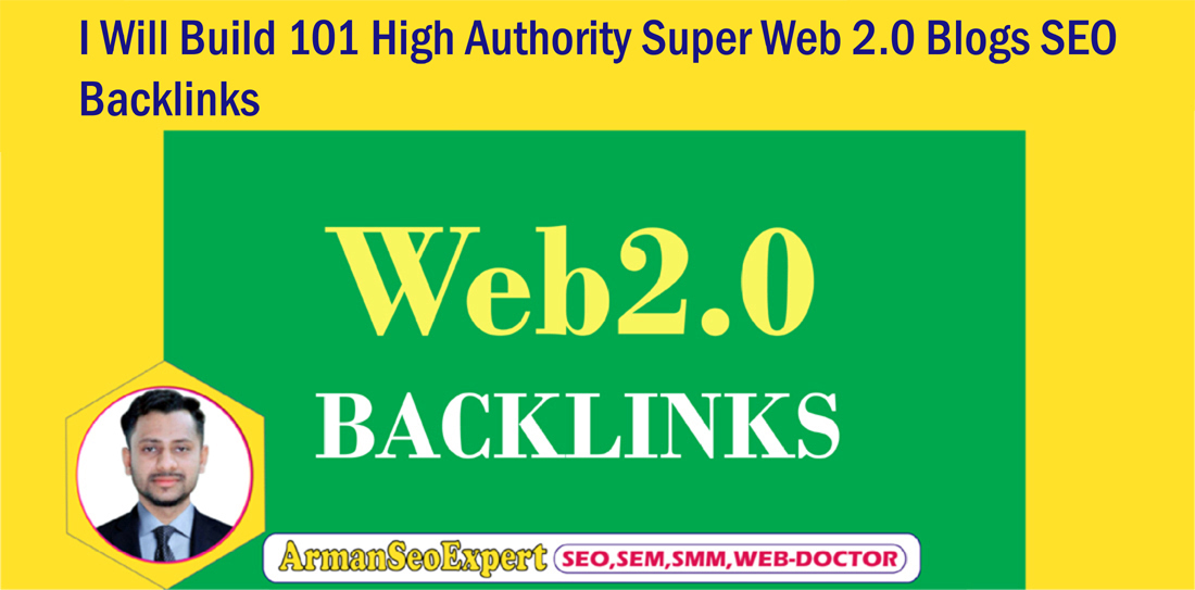 I Will Build 101 High Authority Super Web 2 0 Blogs SEO Backlinks