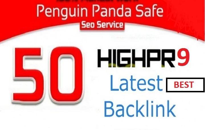I will create 50 USA Powerful PR9 profile Backlinks, link building manually