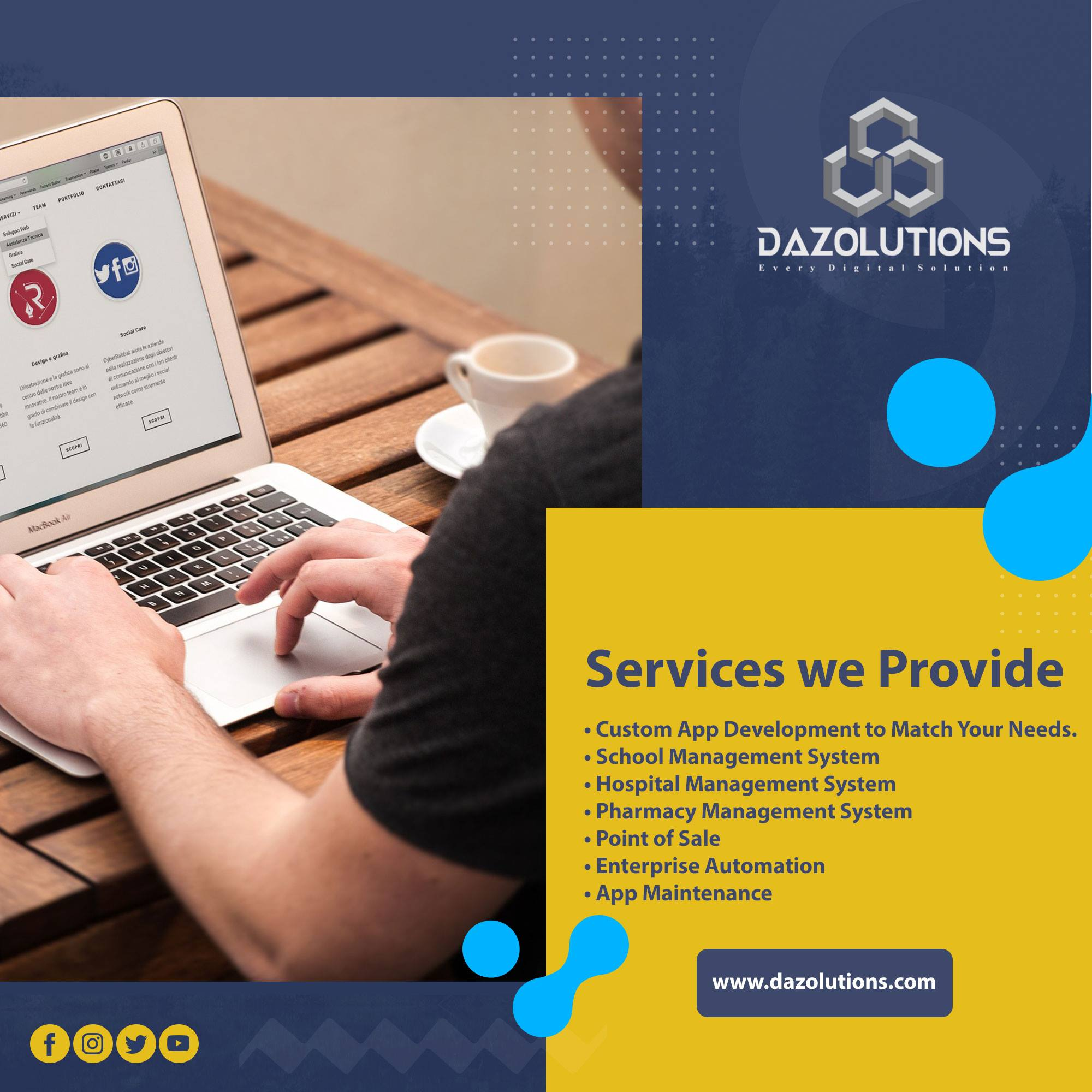 I will design and build a beautiful website for your business