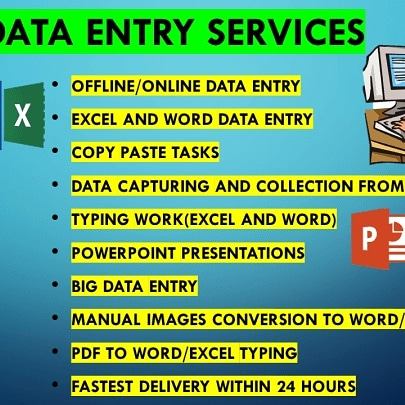 I will provide quality data entry, web research and email collection