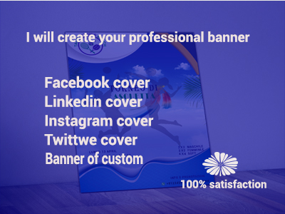 Design Professional LinkedIn,  Facebook, Instagram, twitter Cover Photo Banner