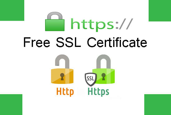 I will install free https SSL certificate and fix related errors