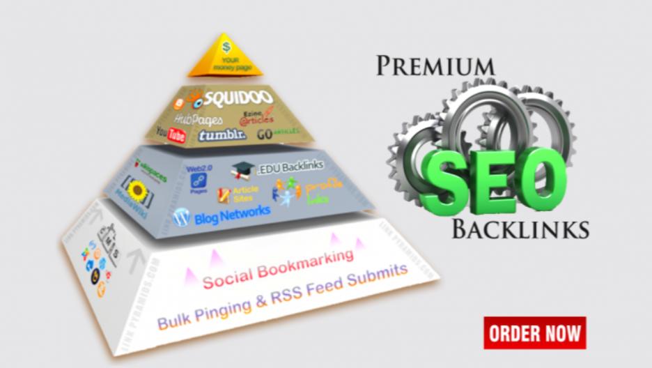 3 Levels of Backlink Pyramid to Increase traffic / Google / SEO Ranking