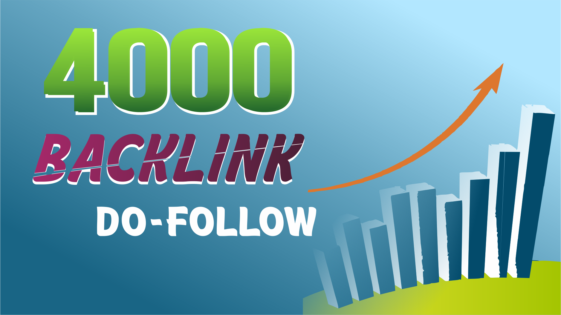 I will build ultra SEO 4000 Backlinks