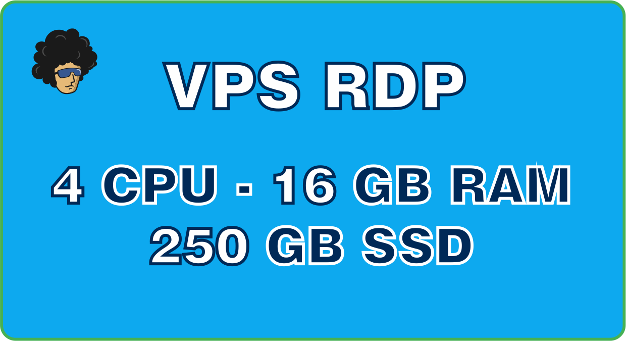 Provide VPS Windows 4vCPU 16GB RAM