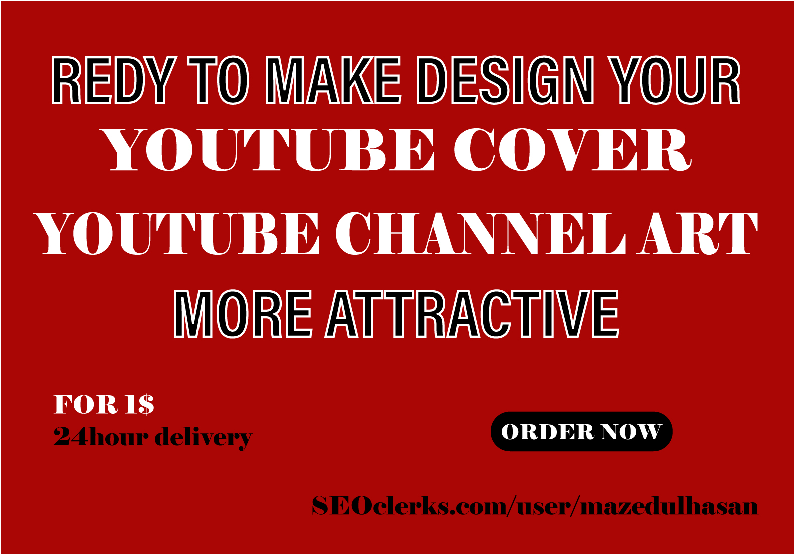 I will desing Eye catchy Thumbnails for your video