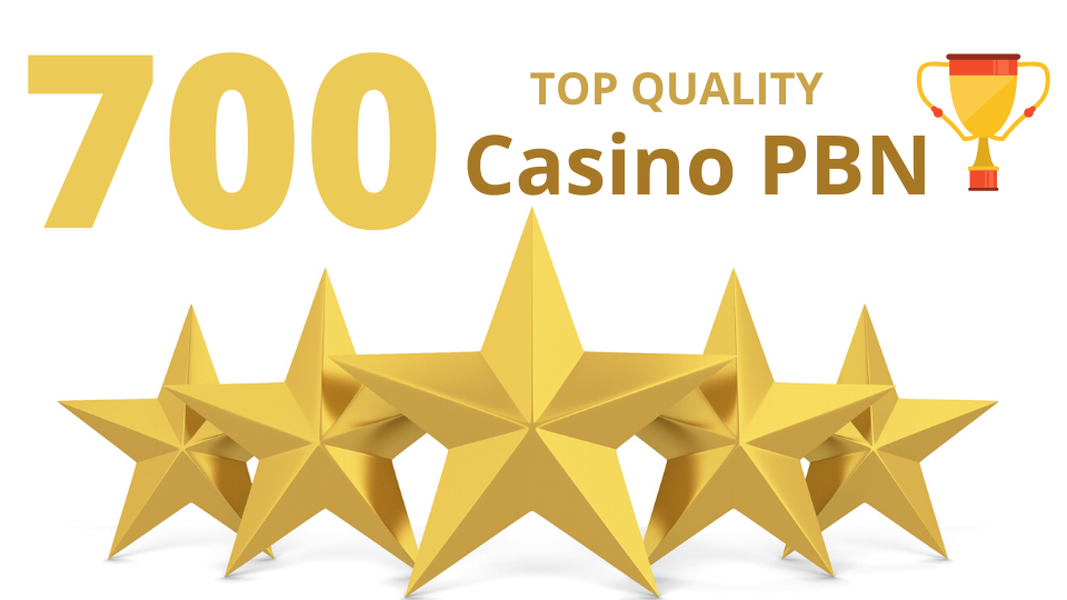 Get 700 web 2.0 PBN casino/poker/Gambling from unique 700 domain