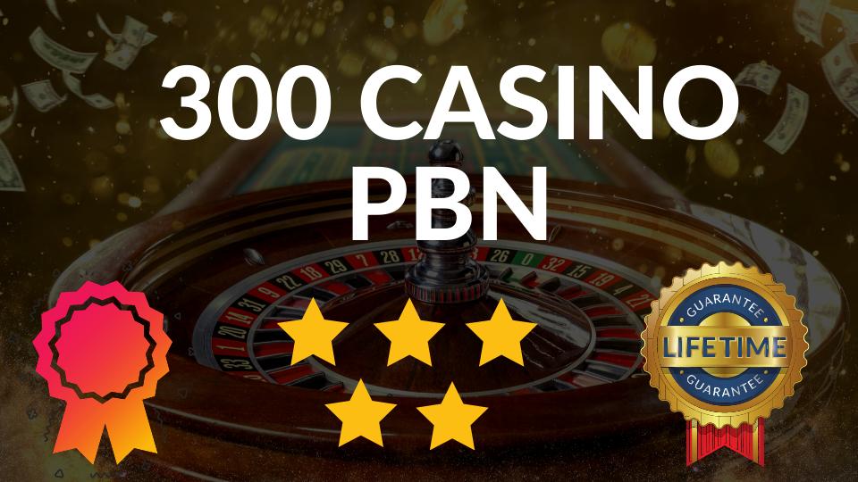 Get 300 Casino/poker/Gambling unique 300 sites