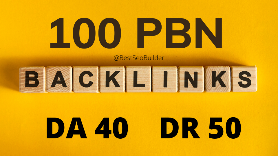 100 web 2.0 PBN from unique 100 domain
