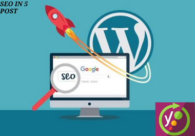 I will do seo in your wordpress website in 5 post