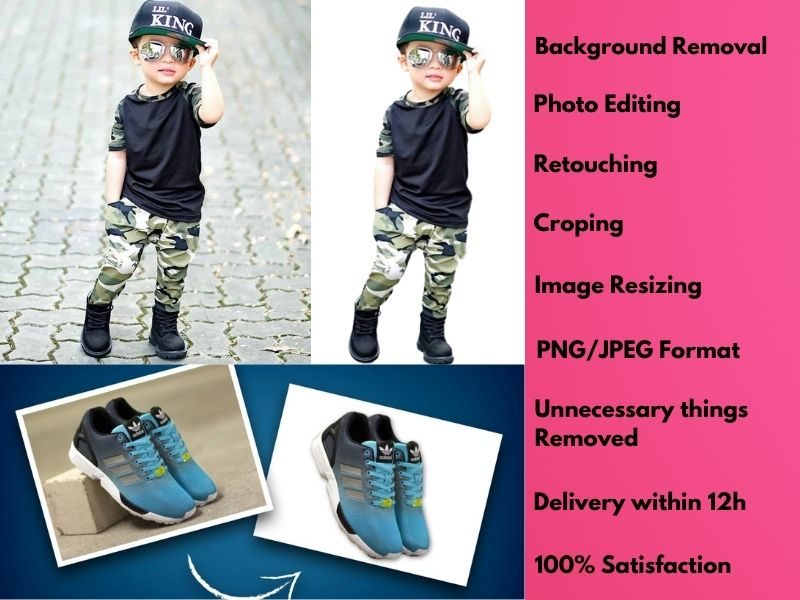 Professionally Product Images Background Remove and Retouch Less Then 24 hours
