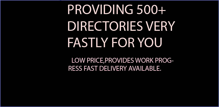 I will submit your website in 500+directories with in 2 days