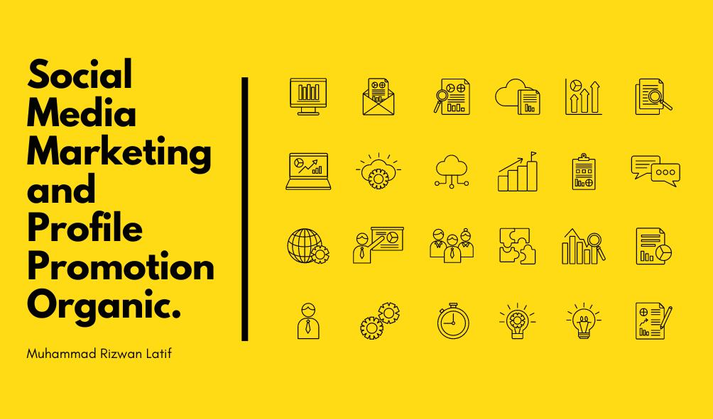 Social Media Marketing and Profile Promotion Organic.