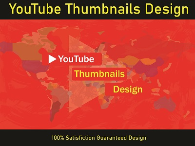 I will design amazing 1 youtube thumbnail in 12 hour
