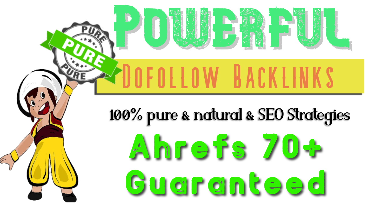 I will increase ahrefs domain rating DR by SEO authority backlinks