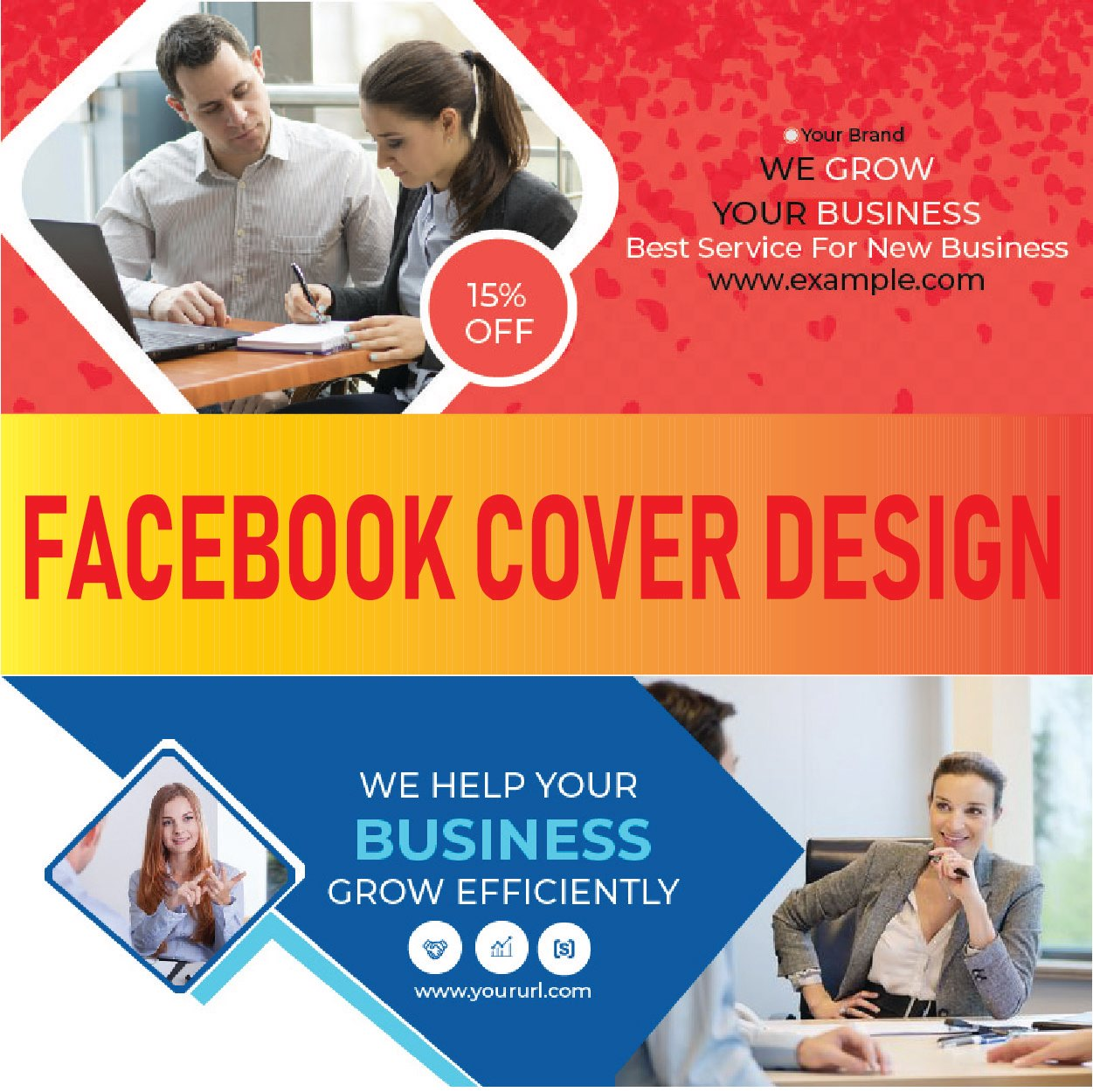 I will create a facebook cover photo banner design in 24hrs