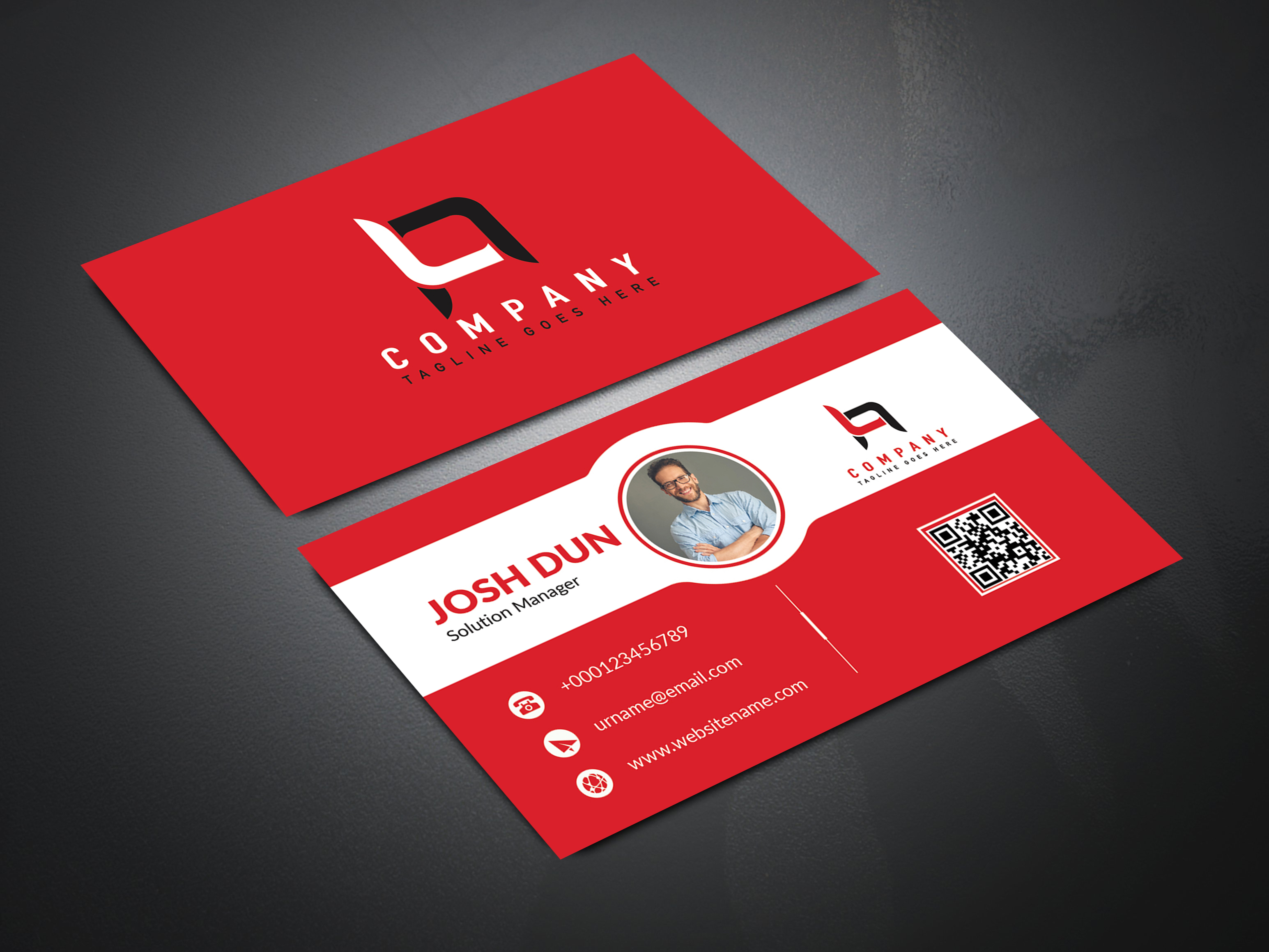 I Will Design Best Premium Business Card in 12 Hours with 2 concept