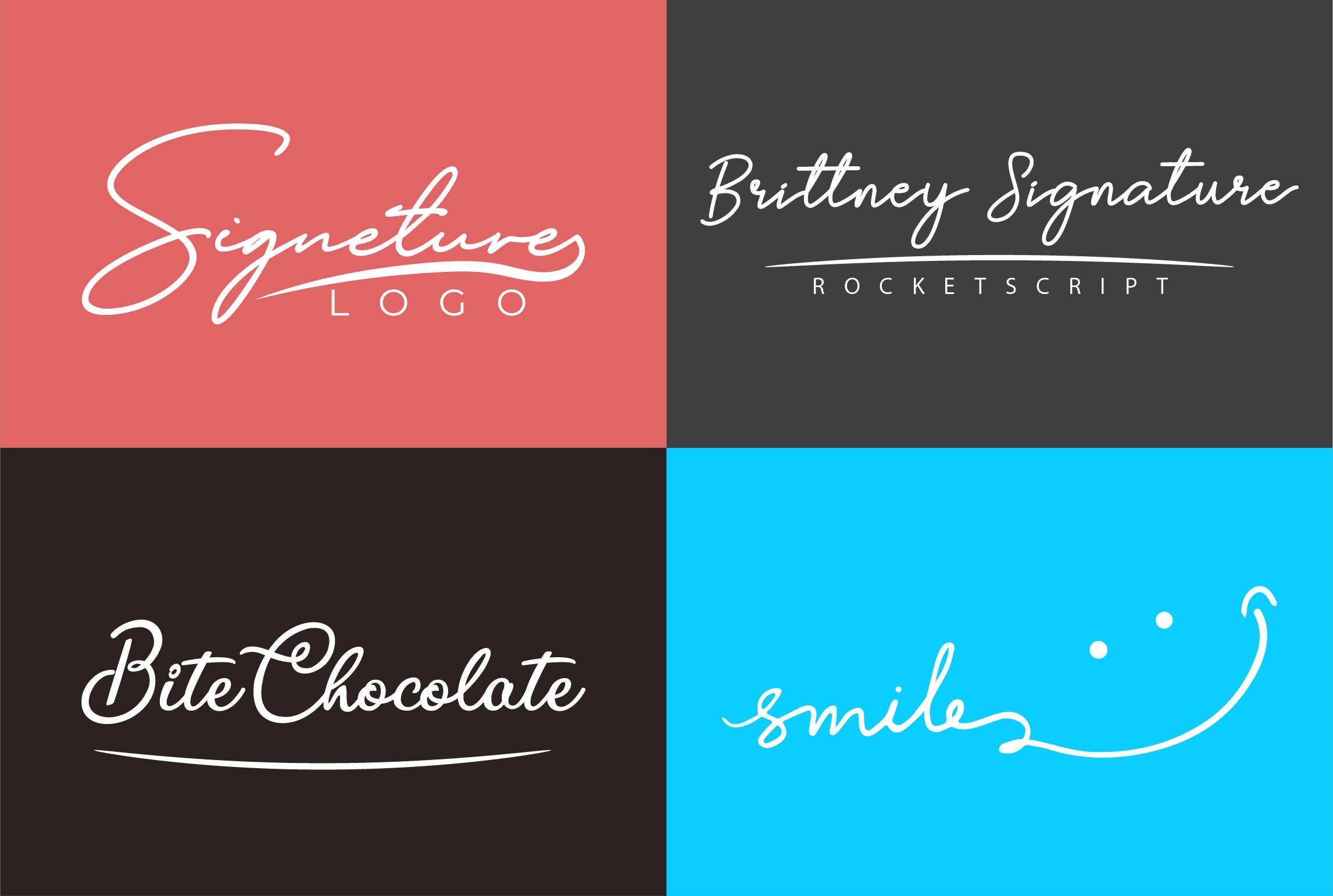I will do professional signature logo and luxury elegant feminine logo