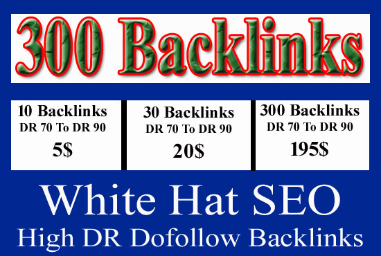 I will Create High Quality Backlinks To rank Your Website