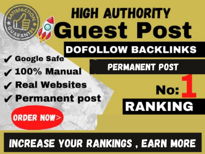 I will do SEO backlink building through blogger outreach for sites with real traffic
