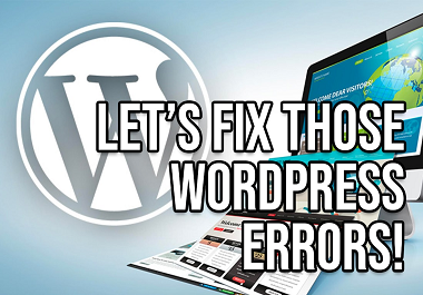 I will fix any type of wordpress errors and issues and Optimize On-page SEO