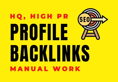 60 Profile Creation Backlinks- High-Authority, High PA DA without Spam Score