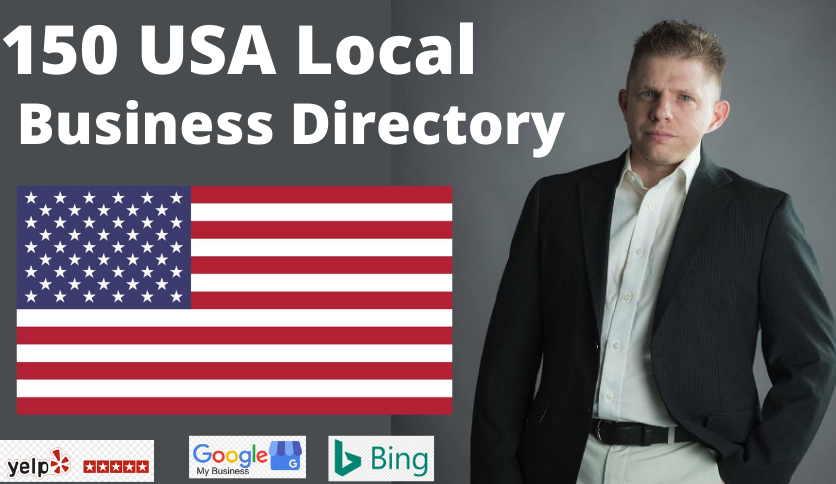 150 USA local citations usa local listing for google my business ranking