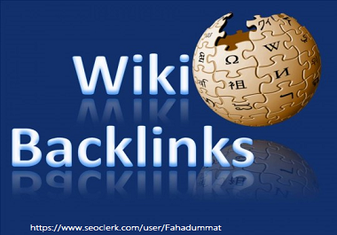 High Authority 99+ Wiki Backlinks on google ranking