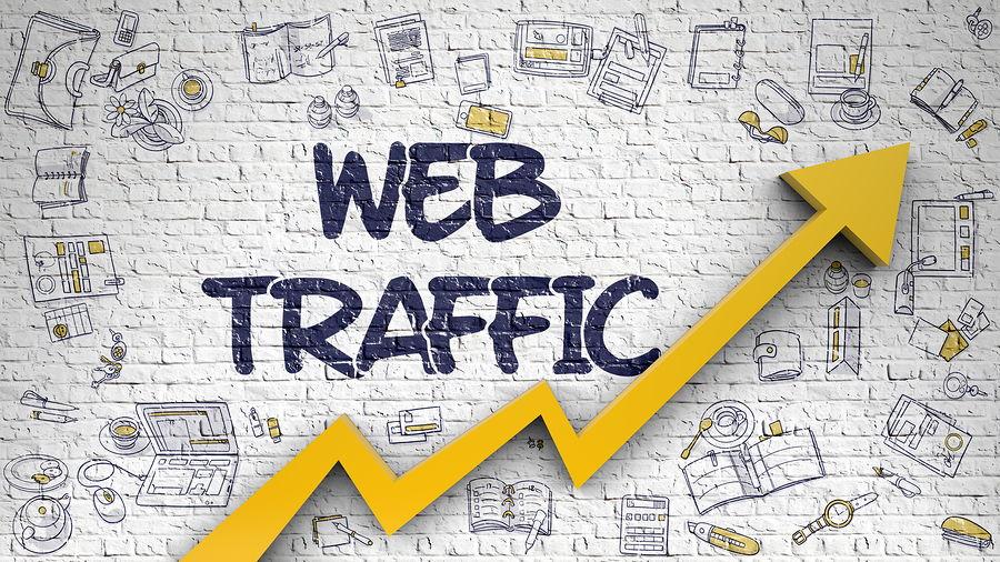 Organic Web and social media traffic-SEO optimized by digital marketing