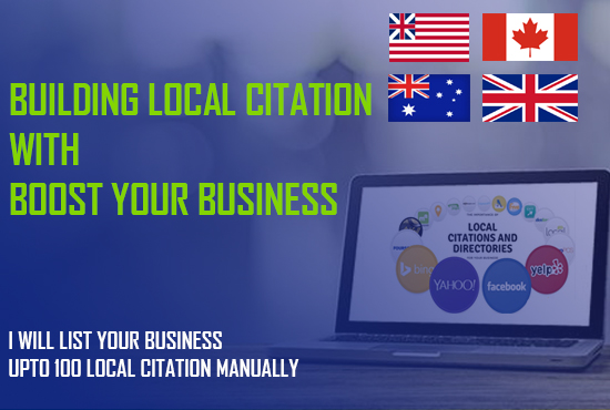 I will manually add your business in upto 20 local citation.