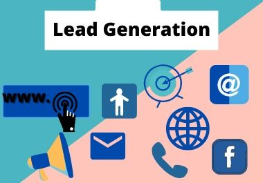 I will give you targeted b2b 50 lead generation service for your business progress