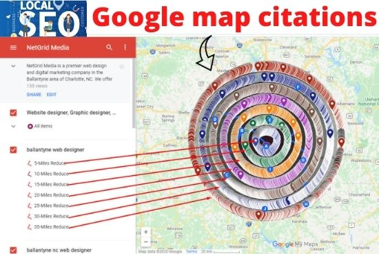 I will create 500 google map citation for local SEO