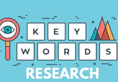 50 Depth seo keyword research for targeted niche