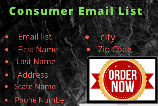 I will collect 5k USA based consumer email list