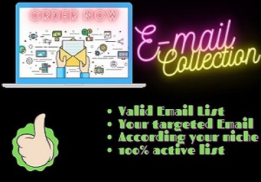 Email List Collection For Email Marketing